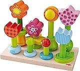 Haba 301551 - Steckspiel Blumengarten