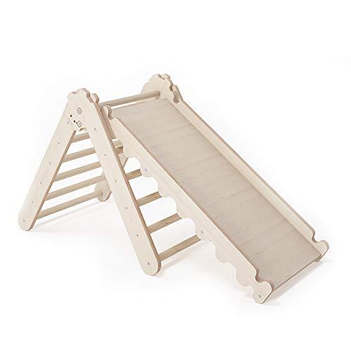 MAMOI Triangle Gym Dreieck v.2 für Kinder Modernes   Klettergerüst Indoor Kinder minimalistisches Design   Nachhaltig Kletterdreieck für Kleinkinder aus Holz   100% ECO   Made in EU