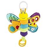 Lamaze LC27024 Baby Spielzeug 'Freddie, das Glühwürmchen' Clip & Go, Hochwertiges Kleinkindspielzeug, Greifling Anhänger zur Stärkung der Eltern-Kind-Beziehung, Baby Mobile, Weihnachtsgeschenk, ab 0 Monaten