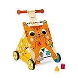Janod Baby Lauflernhilfe 'Katze' - Holzspielzeug,...