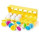 EXTSUD Easter Eier Bunters Lernspielzeug zum Sortieren und...