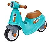 BIG - Classic Sport Scooter Kinder-Laufrad in türkis, echte...