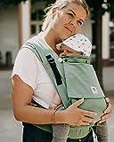 LIMAS PLUS - Babytrage Halfbuckle in Jade für Neugeborene...