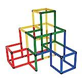 Quadro-Kletterpyramide Set mit 237-tlg bis ca. 100 kg...