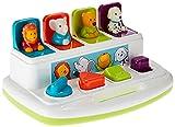 Battat Baby Spielzeug Motorikspielzeug – Pop Up Activity Center mit Tieren – Lernspielzeug mit Tasten zum Drücken, Babyspielzeug Kinder ab 18 Monate für Grobmotorik und Feinmotorik