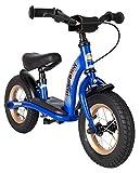 BIKESTAR Kinder Laufrad Lauflernrad Kinderrad für Jungen und Mädchen ab 2 - 3 Jahre | 10 Zoll Classic Kinderlaufrad | Blau | Risikofrei Testen