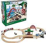 BRIO World 33512 Großes BRIO Bahn Reisezug Set –...
