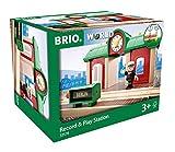 BRIO World 33578 Sprechender Bahnhof – BRIO Eisenbahn...