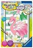 Ravensburger Malen nach Zahlen 28512 - Think Pink - Für Kinder ab 7 Jahren