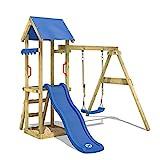 WICKEY Spielturm Klettergerüst TinyWave mit Schaukel &...