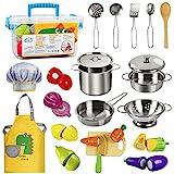 EFO SHM Kinderküche Zubehör Holz Lebensmittel Spielküche...
