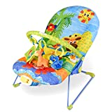 RELAX4LIFE Babywippe Musik mit Vibrationsfunktion,...