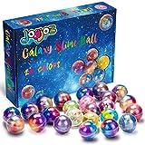 Joy joz Galaxy Slime Fluffy Slime, 24 Packungen Putty Slime Kit DIY Schleim, Partygeschenkset Stressabbau Lernspiel für Kinder und Erwachsene (Galaxy Slime)