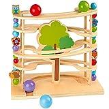 sOlini Kugelbahn Waldtiere / Murmelbahn / Spielzeug aus Holz...