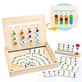 MontessoriSpielzeug Holz Puzzle Sortierbox Kinder...