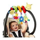 Baby Wiege Glocke Krippe Cartoon Insekt Kinderwagen hängen Plüschtier Tasche Tasche Spirale Sicherheitsspielzeug