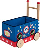 Bieco 4006017 - Lauflernwagen mit Spielzeugbox, 48 x 33 x 54...
