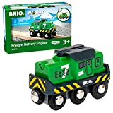 BRIO World 33214 Batterie-Frachtlok - Batterie-Lokomotive...