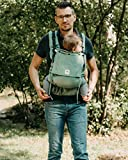LIMAS Flex - Babytrage Fullbuckle Hybrid-Tragehilfe in Jade...