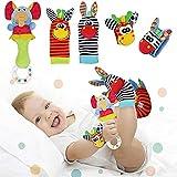 Synchain Baby Rasseln Spielzeug,Baby Rasseln Handgelenk Und...