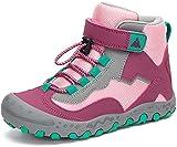Mishansha Wanderschuhe Kinder Trekkingschuhe Mädchen Bergschuhe Outdoor Sport Kinderschuhe Wanderstiefel Stil: 2 Violett Gr.29