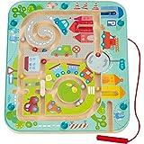 Haba 301056 - Magnetspiel Stadtlabyrinth, pädagogisches...