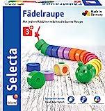 Selecta 63005 Fädelraupe, Würfel- und Fädelspiel...