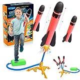 Dreamingbox Spielzeug Junge 3 4 5 6 7 8 9 10 Jahre, Outdoor Spiele für Kinder Spielzeug für Draußen Witzige Geschenke für Kinder ab 3-9 Jahre Rakete Spielzeug Mädchen 4-8 Jahre Geschenke Geburtstag