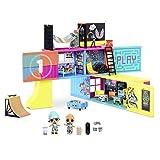 LOL Surprise Klubhaus-Spielset - Mit 40+ Überraschungen - 2 Exklusiv-Puppen, 7 Hangout-Bereiche - Küche, Schlafzimmer, Spielzimmer und mehr