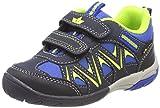 Lico KOLIBRI V H Sneaker Unisex Kinder, Blau/ Marine/ Lemon, 34 EU