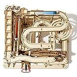 Robotime Murmelbahn Holz 3D Puzzle Erwachsene Kugelbahn...
