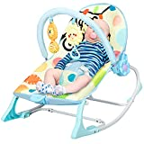 RELAX4LIFE 3 in 1 multifunktionale Babywippe, Babyschaukel...