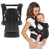 Fillikid - Ergonomische Babytrage/Kindertrage 4in1 - Bauchtrage, Rückentrage, variable Blickrichtung/mitwachsend, verstellbar - für Babys & Kleinkinder (3,5-15 kg)