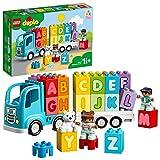 LEGO 10915 DUPLO Mein erster ABC-Lastwagen, Spielzeug für Kleinkinder im Alter von 1,5 Jahren, Buchstabensteine zum Lernen