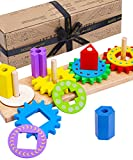 Jaques of London Holzpuzzle   Hohe Qualität Steckspielzeug...