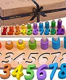 Jaques of London Zählen und Stapeln Montessori Spielzeug |...