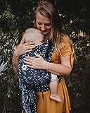 LIMAS PLUS - Babytrage Halfbuckle in Flora Midnight Blue...