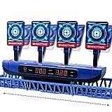 Dreamy Cubby Zielscheibe für Nerf, Bewegliches Digitale Zielscheibe Elektronische Wertung Automatisches Zurücksetzen Digitale Ziele Kinder Spielzeug für 6 7 8 9 10 11 12 Jahre