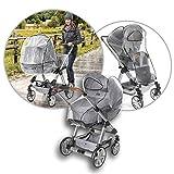 Reer RainCover Classic Regenschutz für Kombi-Kinderwagen