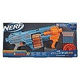 Nerf Elite 2.0 Shockwave RD-15 Blaster, 30 Nerf Darts, 15-Dart Rotationstrommel, Schnellfeuer mit Pump-Action, mit Erweiterungsoptionen