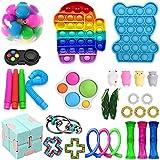 Mubineo Sensorische Fidget Spielzeug-Satz für Kinder oder Erwachsene Fidget Toys Pack-Hand Spielzeug Stress-Angst Relief Spielzeug Set für ADHS (Toy Set EC)