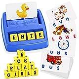 LET'S GO! Kinder Spielzeug ab 3-8 Jahre Junge, Buchstaben Lernen Kindertag Geschenk Geschenke für Mädchen ab 3-8 Jahre Lernspielzeug ab 3-8 Jahre Geschenke für Jungen ab 3-8