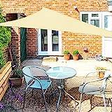 OKAWADACH Sonnensegel Dreieck 2x2x2m, 95% UV Schutz...
