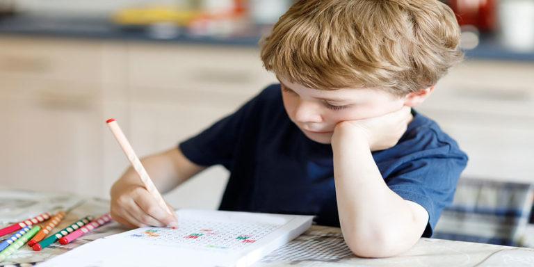Malen nach Zahlen Kind