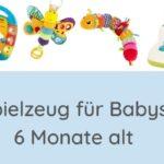 Spielzeug für 6 Monate altes Baby