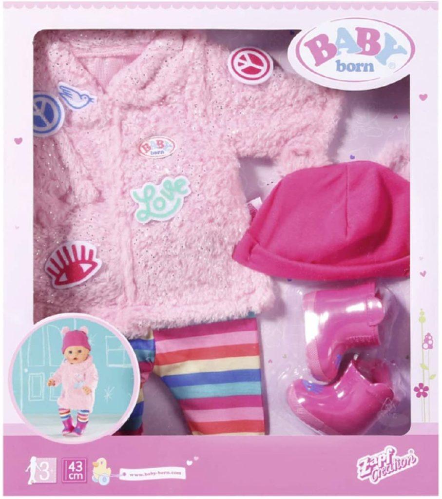 Baby Born Glitzer Mantel Set