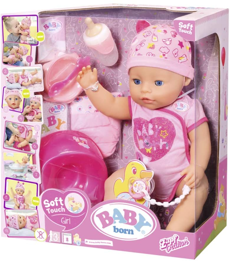 Baby Born Soft Touch Girl Puppe