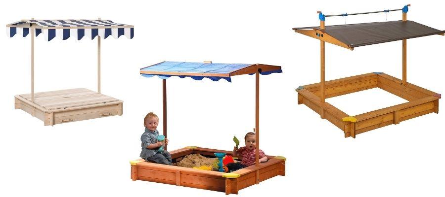 Sandkasten-mit-Sonnenschutz