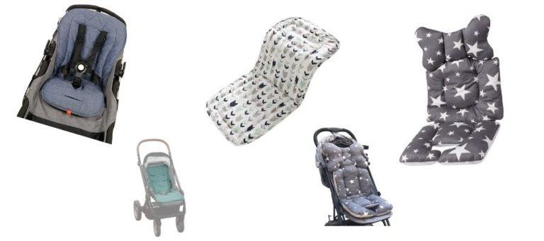 Sitzauflage-Kinderwagen-Sommer-Winter