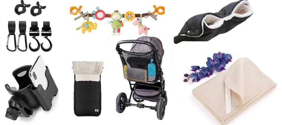 Ausstattung für den Kinderwagen